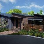Storybook Modern Skillion Roof Design