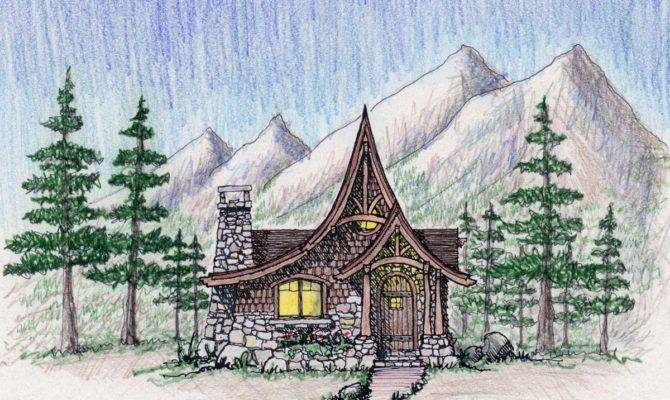 Storybook Style Hansel Gretel Cottage