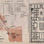 Strada Dei Sepolcri Pompeian House Casa Pansa Floor Plan Map