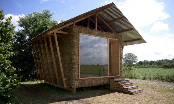 Straw Bale Ecologic Pavilion Cozy Nest Built Improve One
