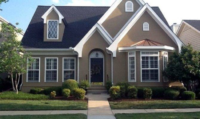 Stucco Exterior House Paint Colors Grey Stone Houses