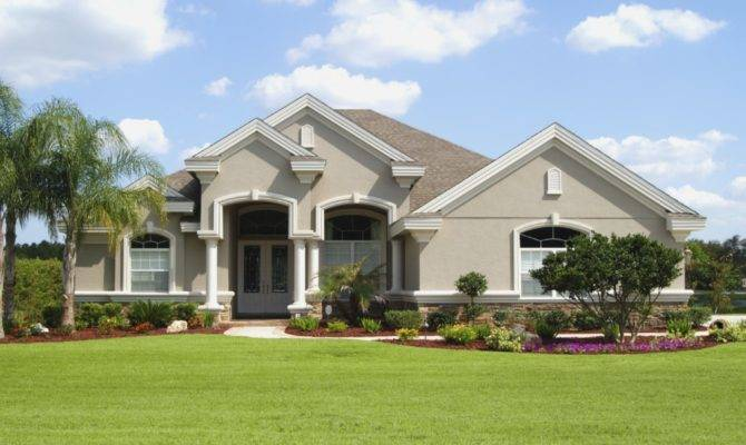 Stucco Home Designs House Plans