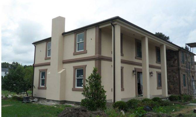 Stucco House Design