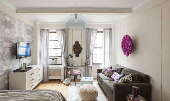 Studio Apartment Decorating Tips Make Small Space Bigger