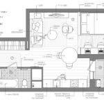 Studio Apartment Floor Plan Interior Design Ideas