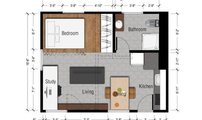 Studio Apartment Floor Plans Tasty Small