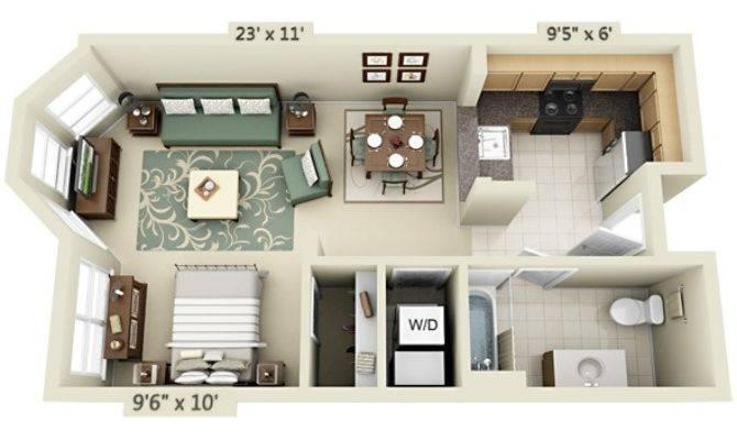Studio Apartment Floor Plans - Home