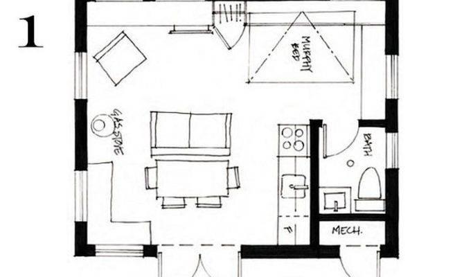 Studio Cottage Plan Home Design