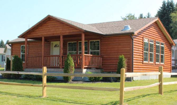 Studio Room Designs Log Sided Double Wides Cabin