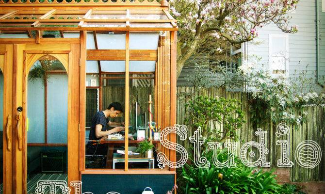 Studio Solution Kit Greenhouse Becomes Creative Private Office