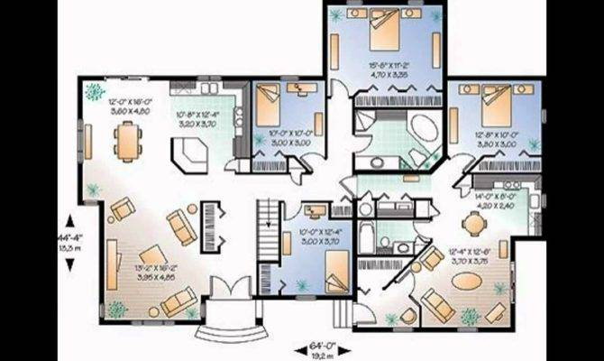 Stunning Contemporary Floor Plans New Homes Home Decoration