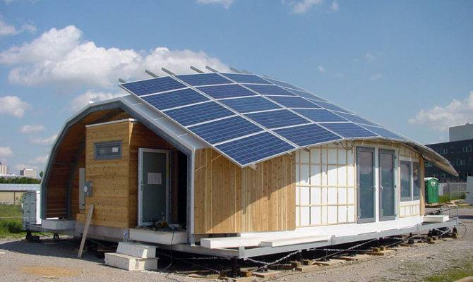 Stunning Energy Efficient Homes Solar