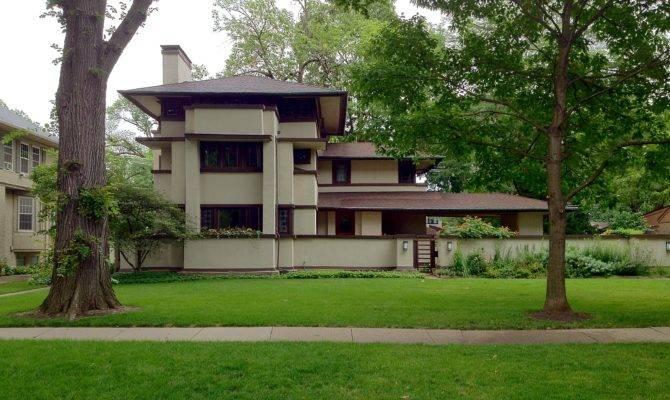 Stunning Frank Lloyd Wright Prairie House Plans Ideas