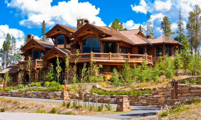 Stunning Log Home Designs Photographs