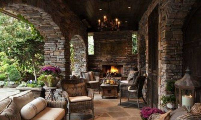 Stunning Outdoor Living Spaces Style Estate