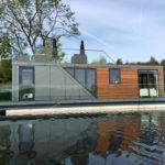 Stunning Prefab Houseboats Allow Live Water