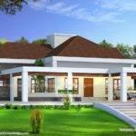 Stunning Single Floor House Above Road Level Kerala Home