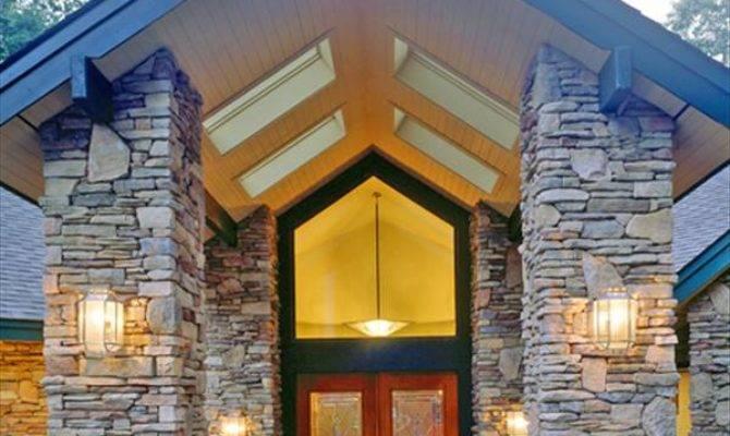 Stunning Stone Home Designs House Designers