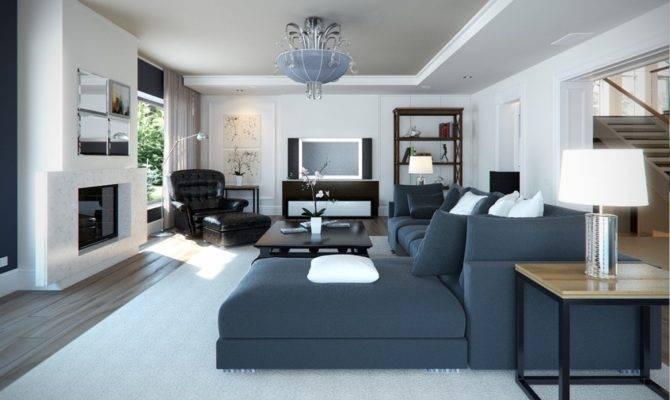 Stupendous Denim Sofa Decorating Ideas Room
