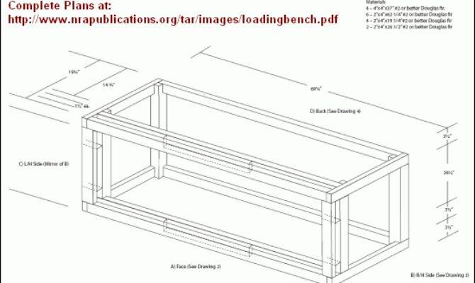 Sturdy Reloading Bench Plans Nra Website Daily Bulletin