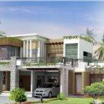 Style Awesome Modern House Designs Green Garden Small Terrace