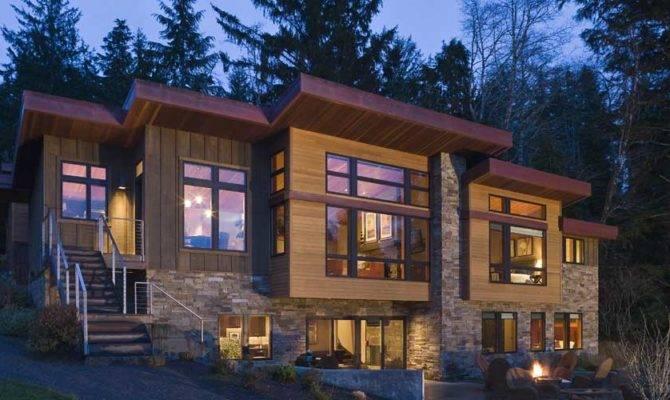 Styles Standard Lake House Design