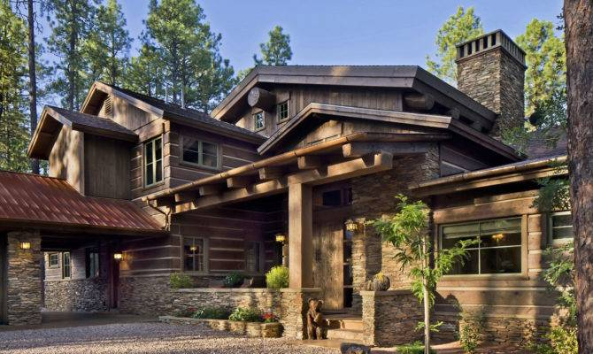 Stylish Design Etnic Contemporary Mountain Home Plans