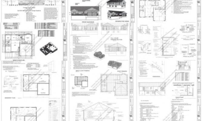 Stylish House Plans Complete Plan Pics