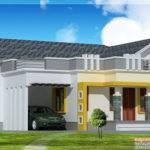 Stylish Single Floor Home Feet Architecture House Plans