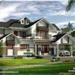 Stylish Sloping Roof Home Interior Design Floor Plans Designbup