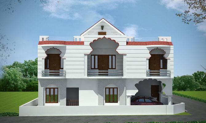 Stylish Small Duplex House Designs Best Design