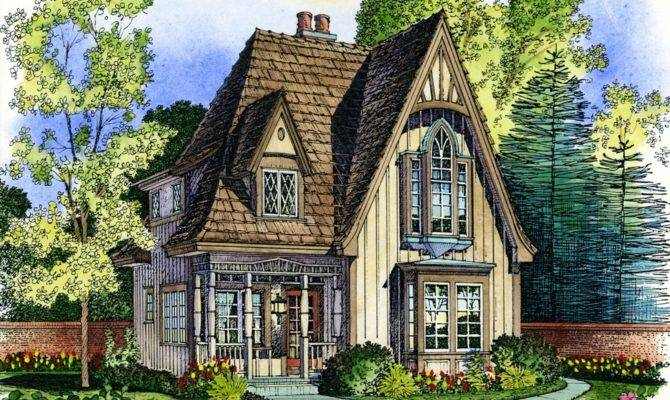 Stylish Small Victorian Cottage House Plans Style