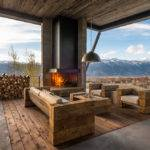 Substituting Hall Modern Mountain Home Freshome