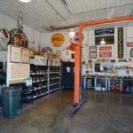 Suburban Interior Hobby Garage Shop Area