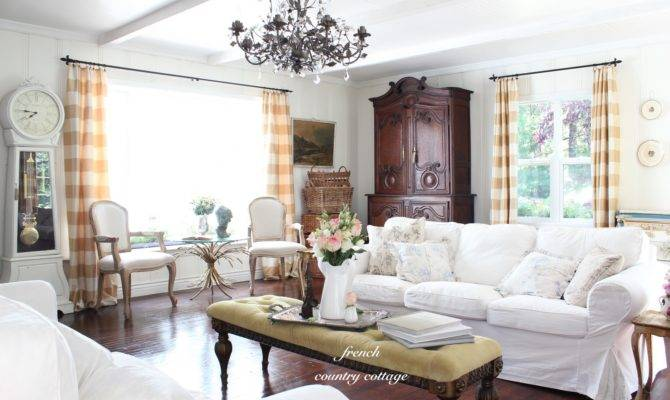 Summer Living Room French Country Cottage