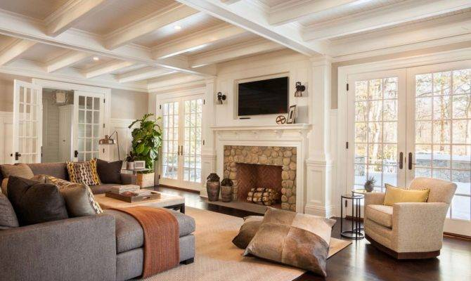 Sumptuous Colonial Home Traditional Details New Cannan