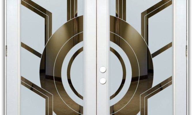 Sun Odyssey Etched Glass Way Doors Modern Style