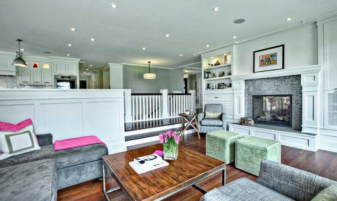 Sunken Living Rooms Step Down Conversation Pits Ideas Photos