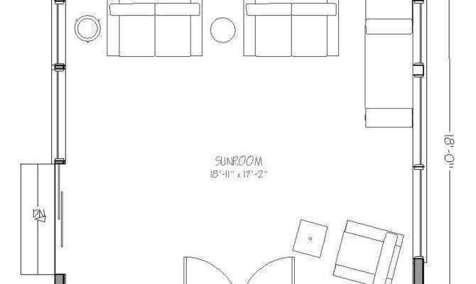 Sunroom Floor Plan