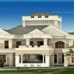 Super Luxury Kerala House Exterior Design Plans