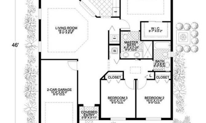 Superb Concrete Block House Plans Small