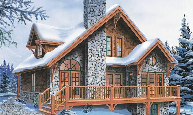 Superb Four Season Chalet Drummond House Plans Blog