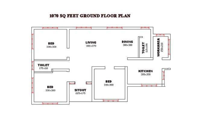 Superb Single Floor Design Kerala House