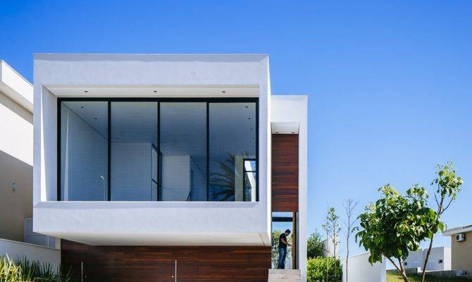 Sustainable Four Level Home Brazil Exhibiting Bold