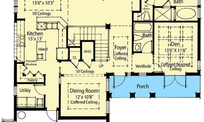 Sustainable Living House Plan Architectural