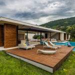 Sustainable Modern Country Home Colombia Drawing Landscape