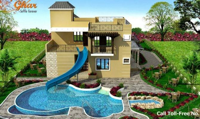 Swimming Pool Houses Designs Bungalow House Design Small Home Plans Blueprints 125475