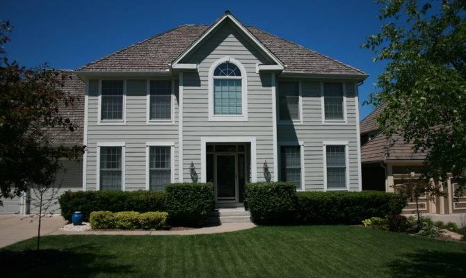 Symmetrical Exterior Home Pinterest