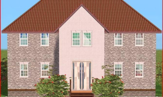 Symmetrical House Brick