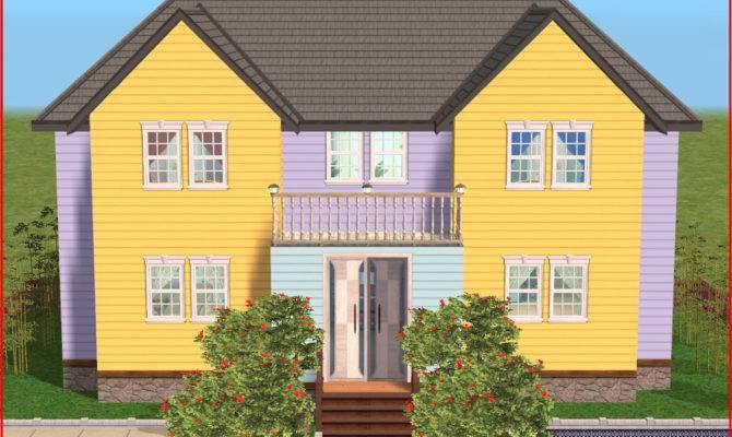 Symmetrical House Siding